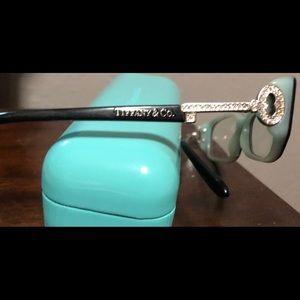 Tiffany key eyeglasses with case